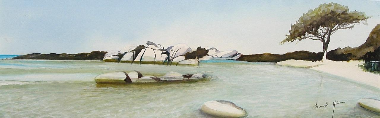 Corse : la plage de Palombaggia