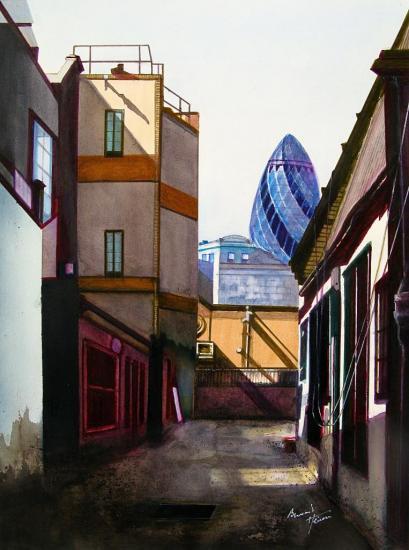 The Gherkin (Le Cornichon) Londres