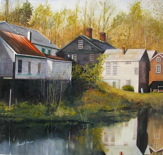 Paysage du Vermont (USA)
