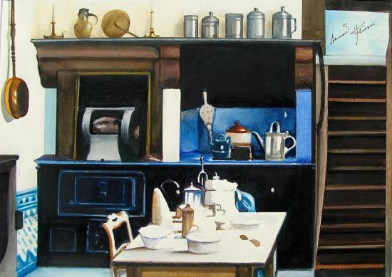 La cuisine de Tante Léonie