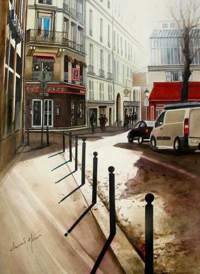 Paris - Rue St André des Arts