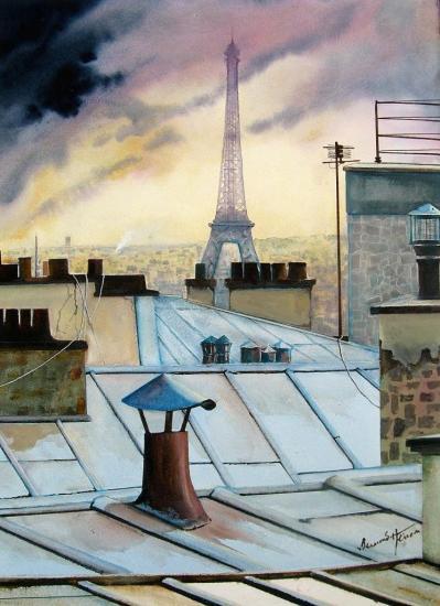 Paris - Les toits