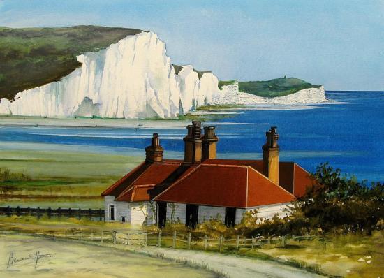 Les Falaises du Sussex (Angleterre)