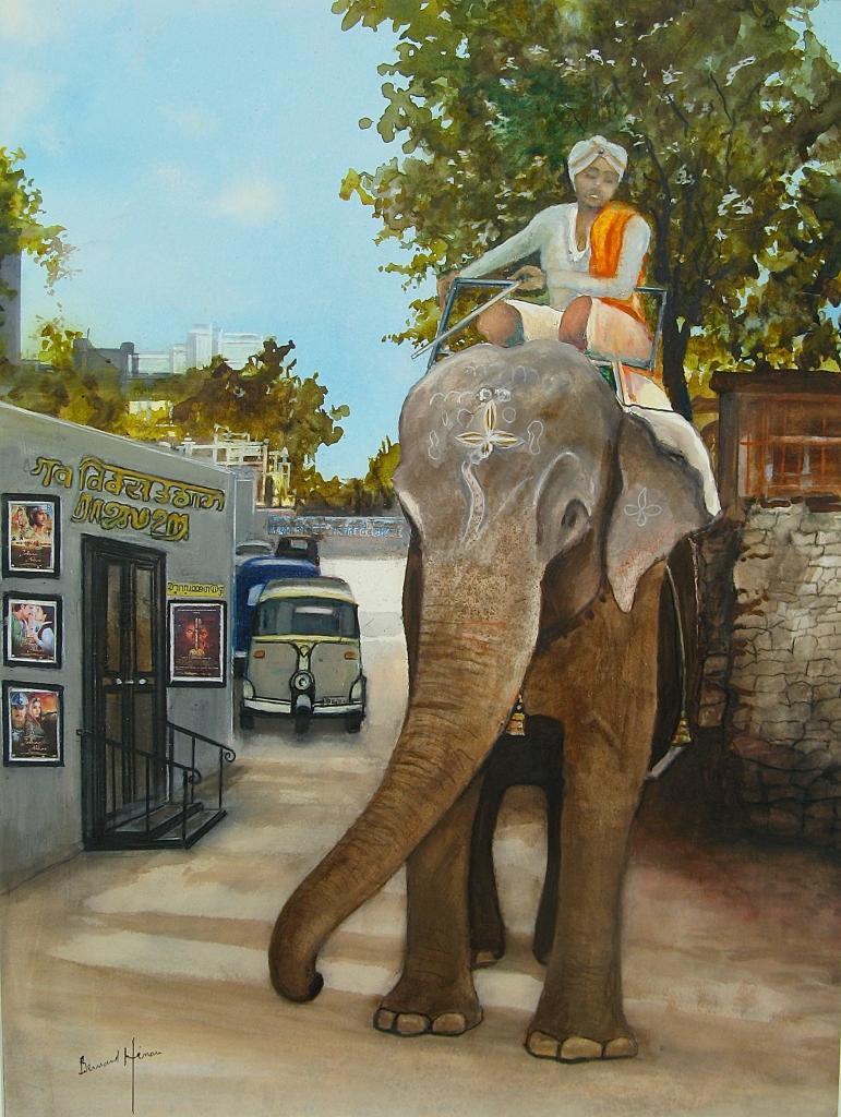 Udaipur (Inde) au Pays des éléphants