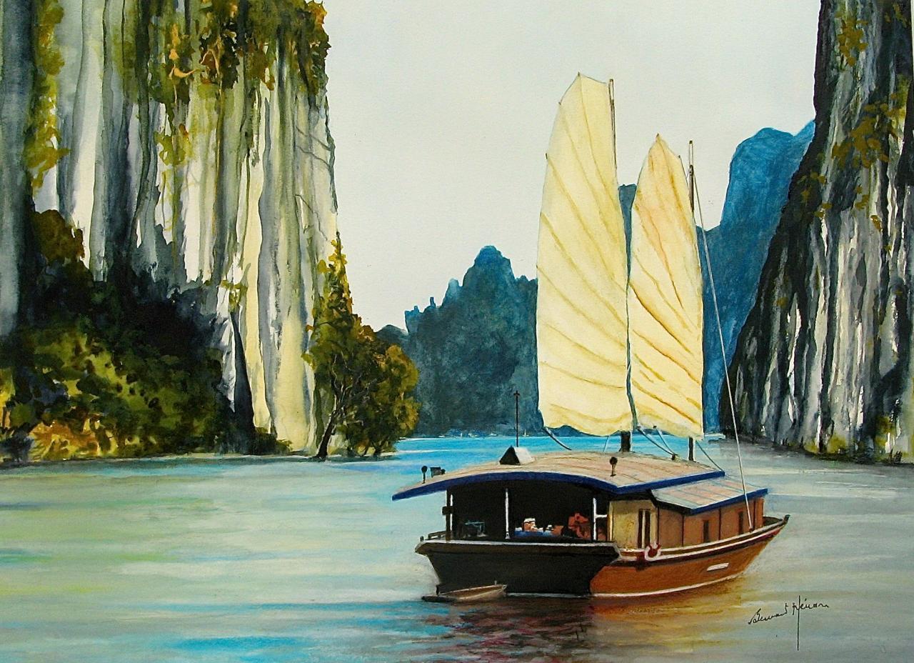 Viêt Nam - la Baie d'Ha Long