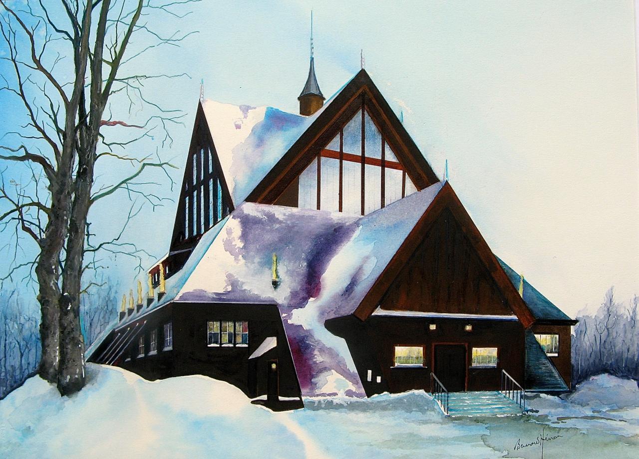 Laponie suédoise - l'église de Kiruna