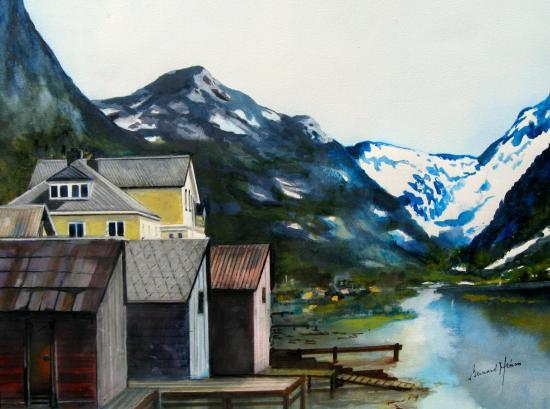 Norvège - Le Sognefjord
