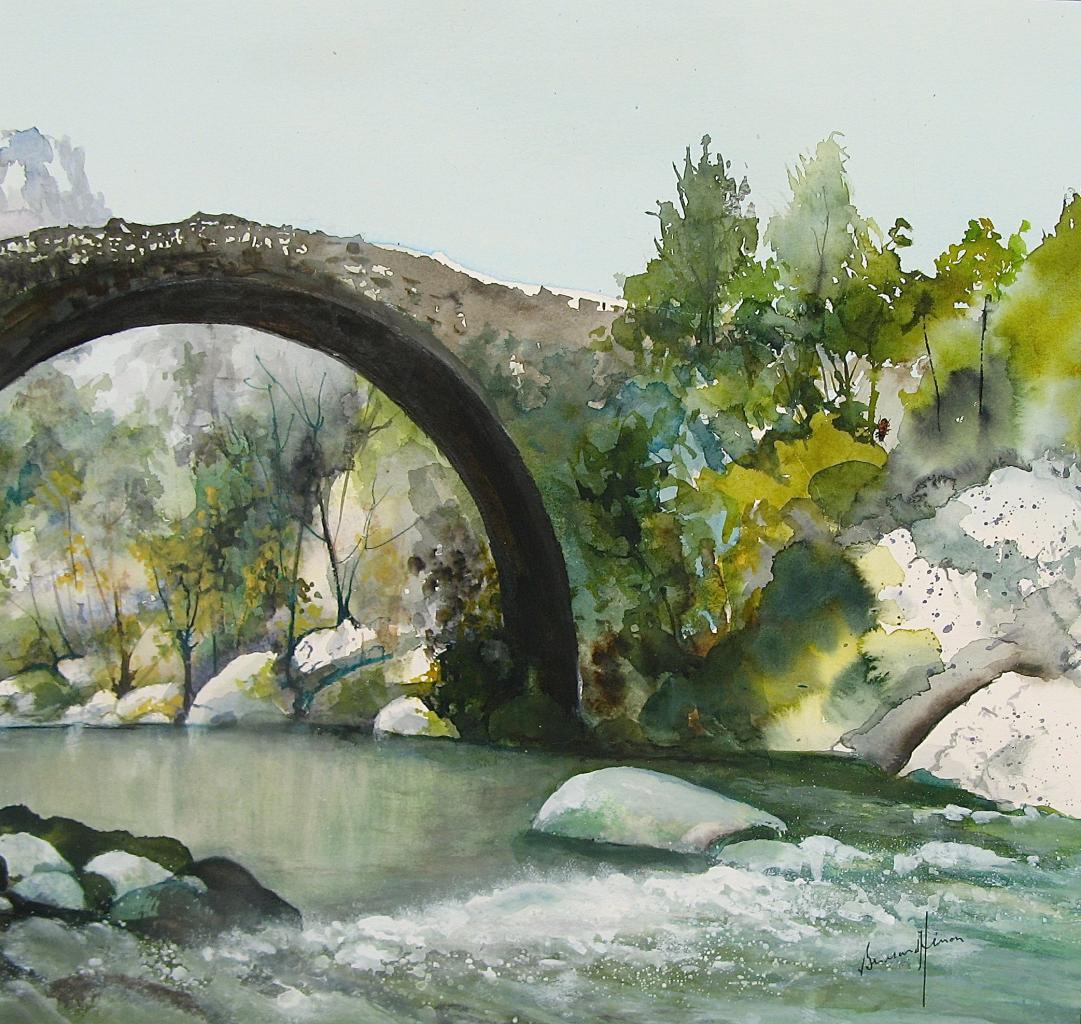Corse - Un pont gênois