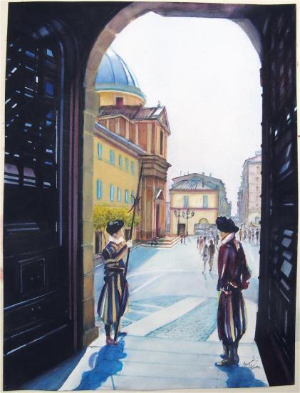 Les Gardes Suisses de Castel Gondolfo
