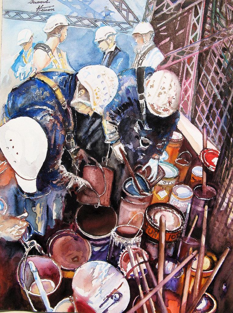 Les peintres de la Tour Eiffel Déf