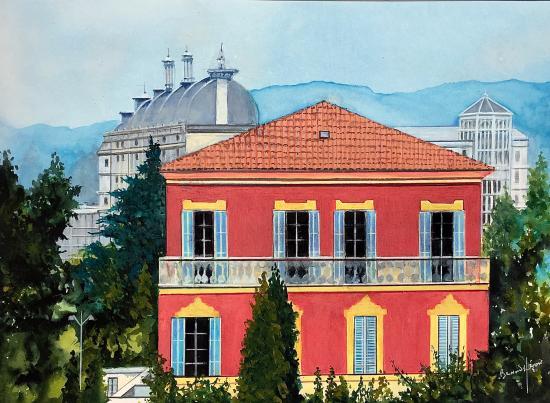 NIce  - le musée Henri Matisse
