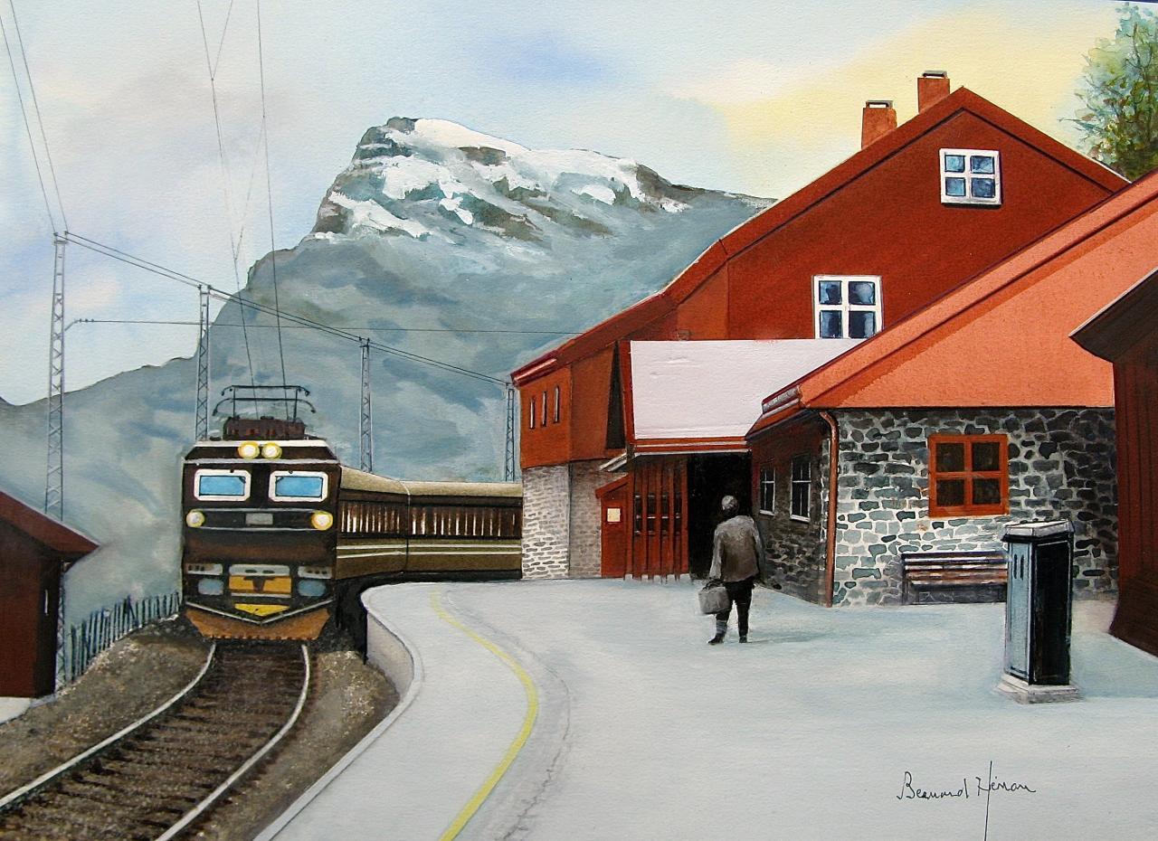 Norvège - la ligne mithyque du train Oslo-Bergen