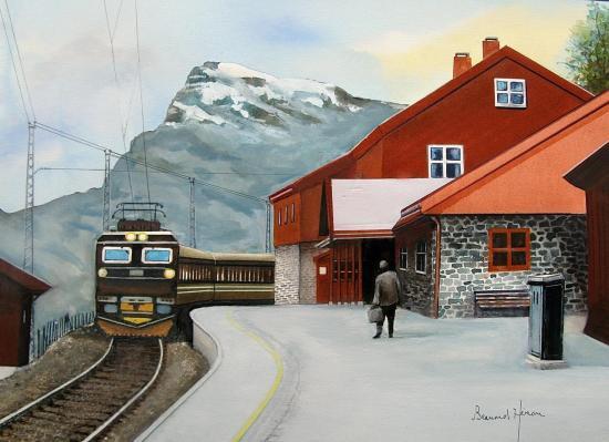 Norvège - la ligne mythique du train Oslo-Bergen