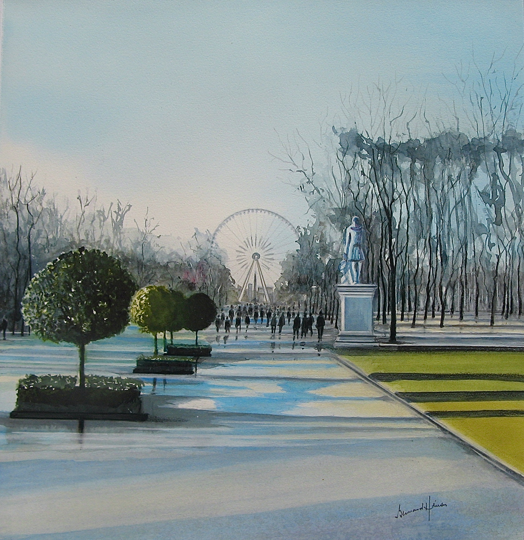 Paris et sa grande roue