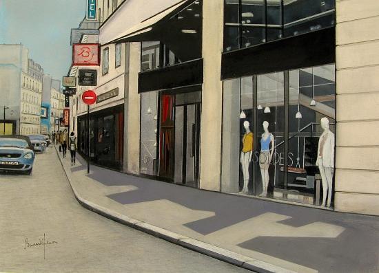 Paris - la rue de Passy