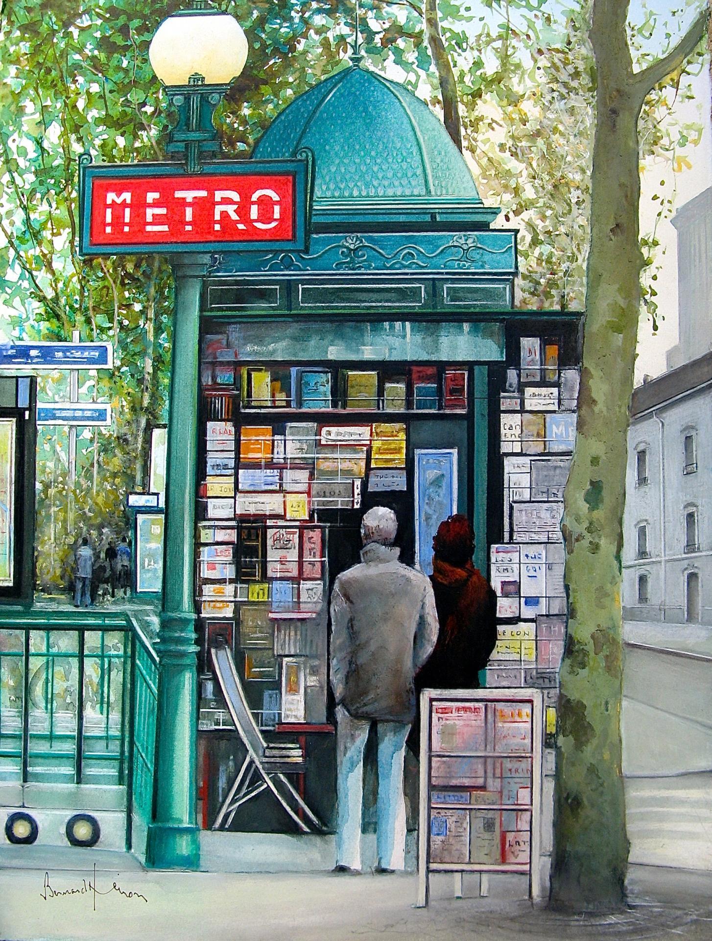 Paris - Le charme d'antan de ses kiosques de presse