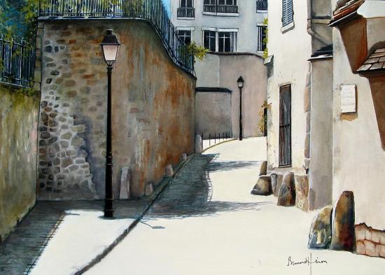 Paris - Rue Berton à Passy