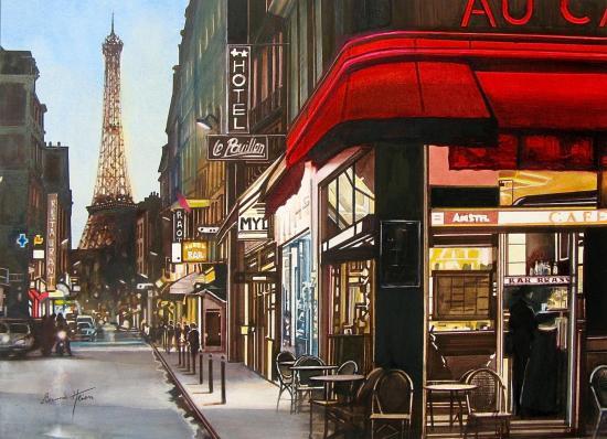 Paris - Un soir rue St Dominique