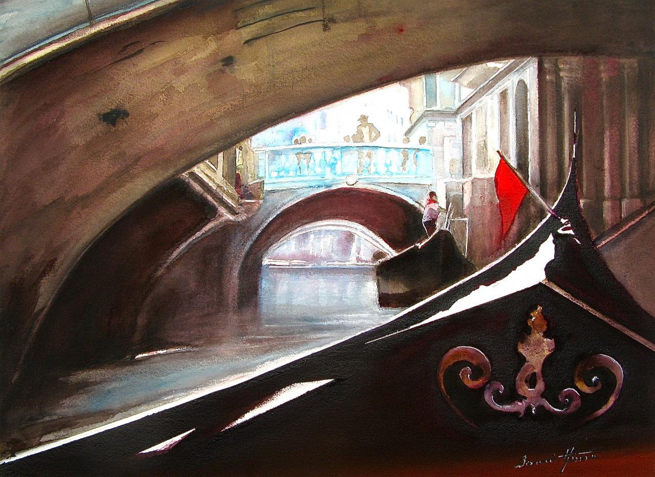 Sous les Ponts de Venise
