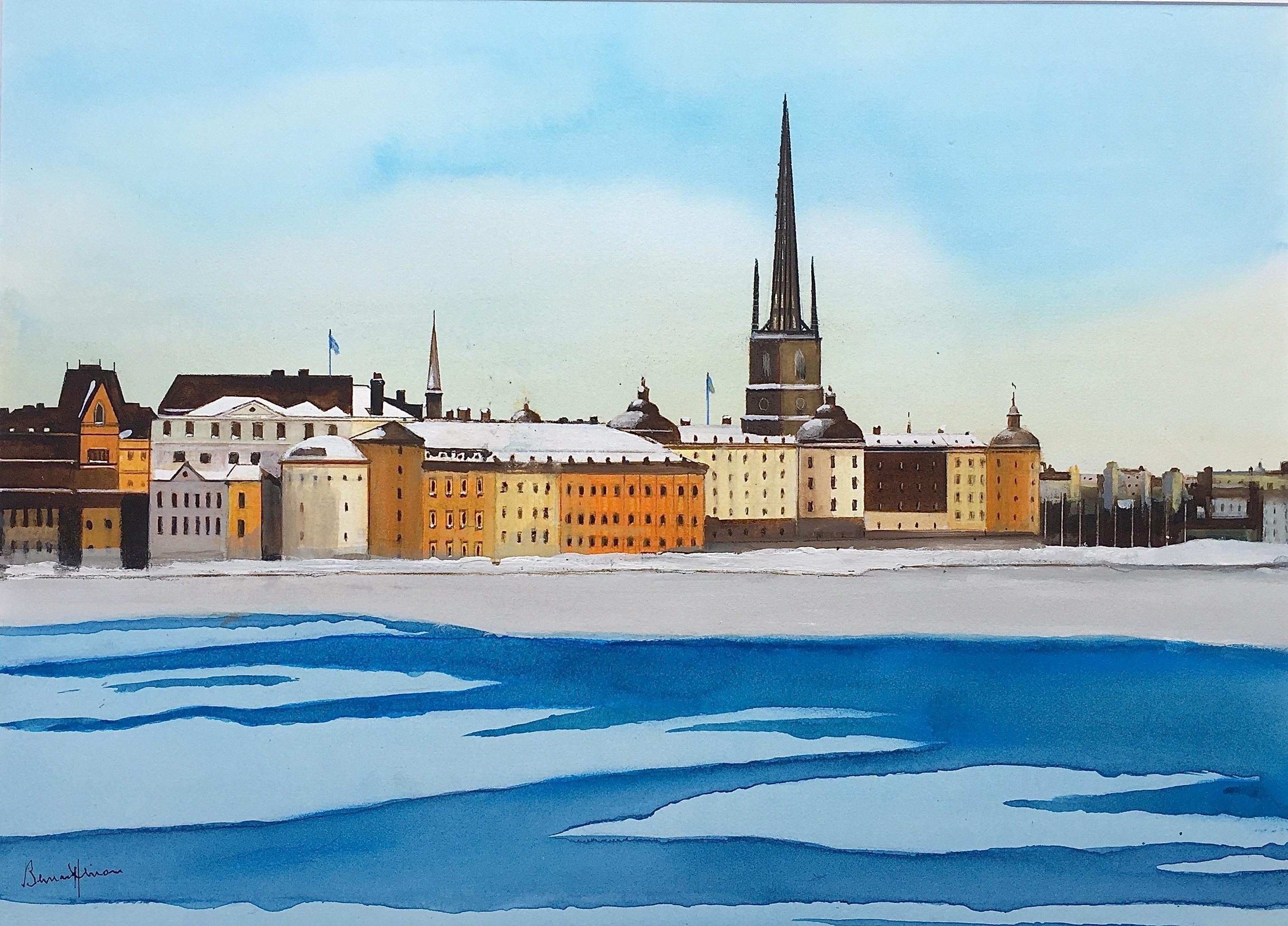 Suède -  Stockolm, la Venise du Nord