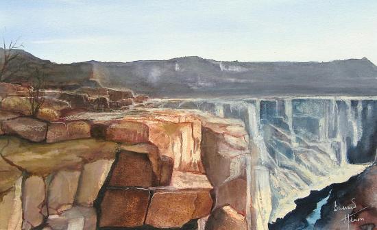 Arizona usa le grand canyon