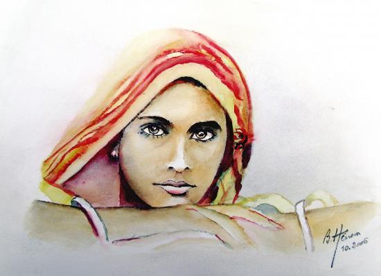 Femme indienne 2