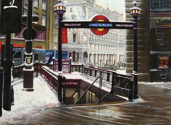 Le métro de Londres