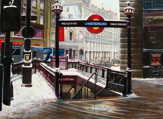 Le métro à Londres