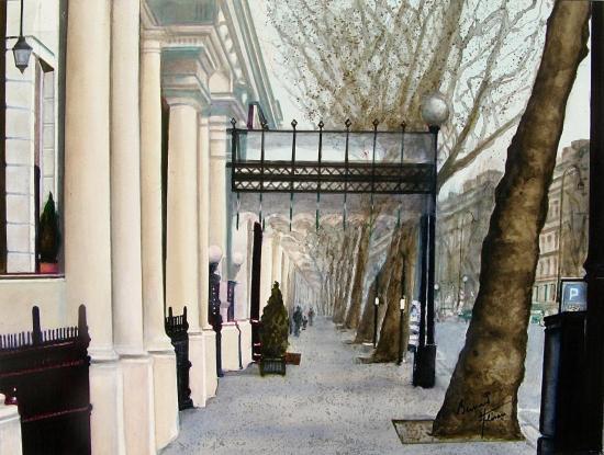 Le quartier de Kensington à Londres