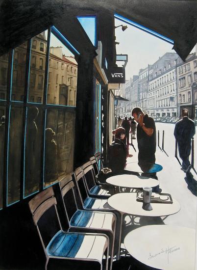 Paris - Rue du Fbg St Antoine