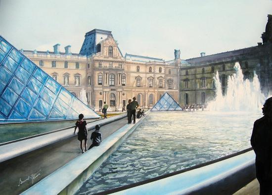 Paris -Le louvre