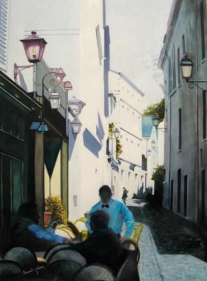 Paris - Rue St Rustique