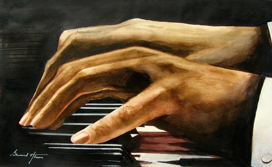 Mains de pianiste
