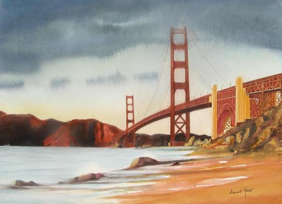 La brume se lève sur San Francisco