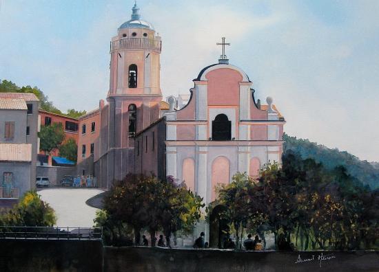 Corse : Cargèse - son église dite 'latine