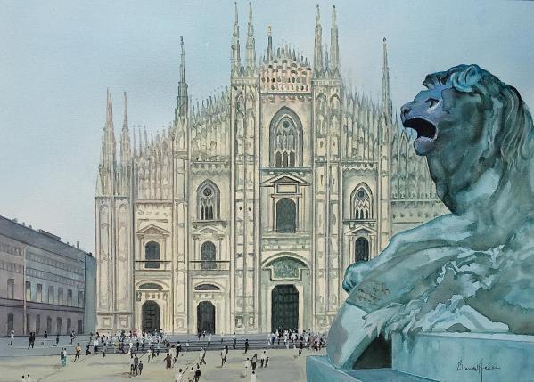 Italie la cathe drale de milan