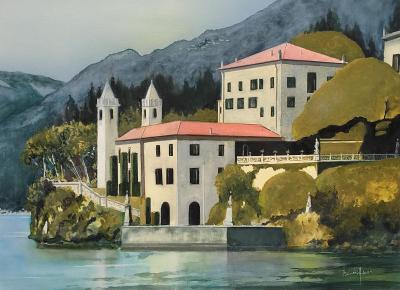 Italie la villa balbianello sur le lac de co me