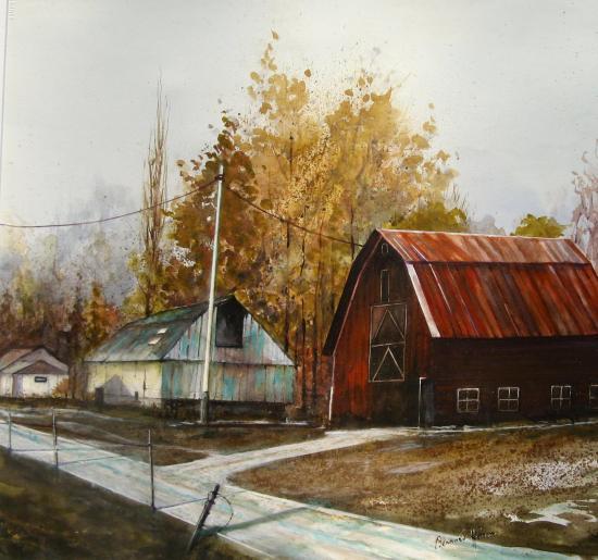 Les granges vermont (USA)