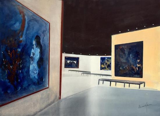 Nice le muse e marc chagall