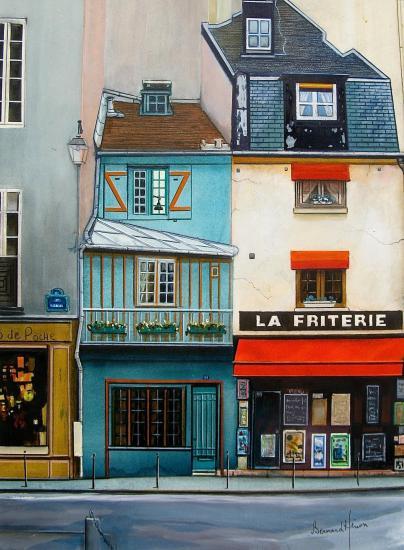 Paris au 77 rue galande