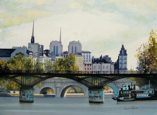 Paris - le Pont des Arts