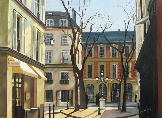 Paris la place de furstenberg
