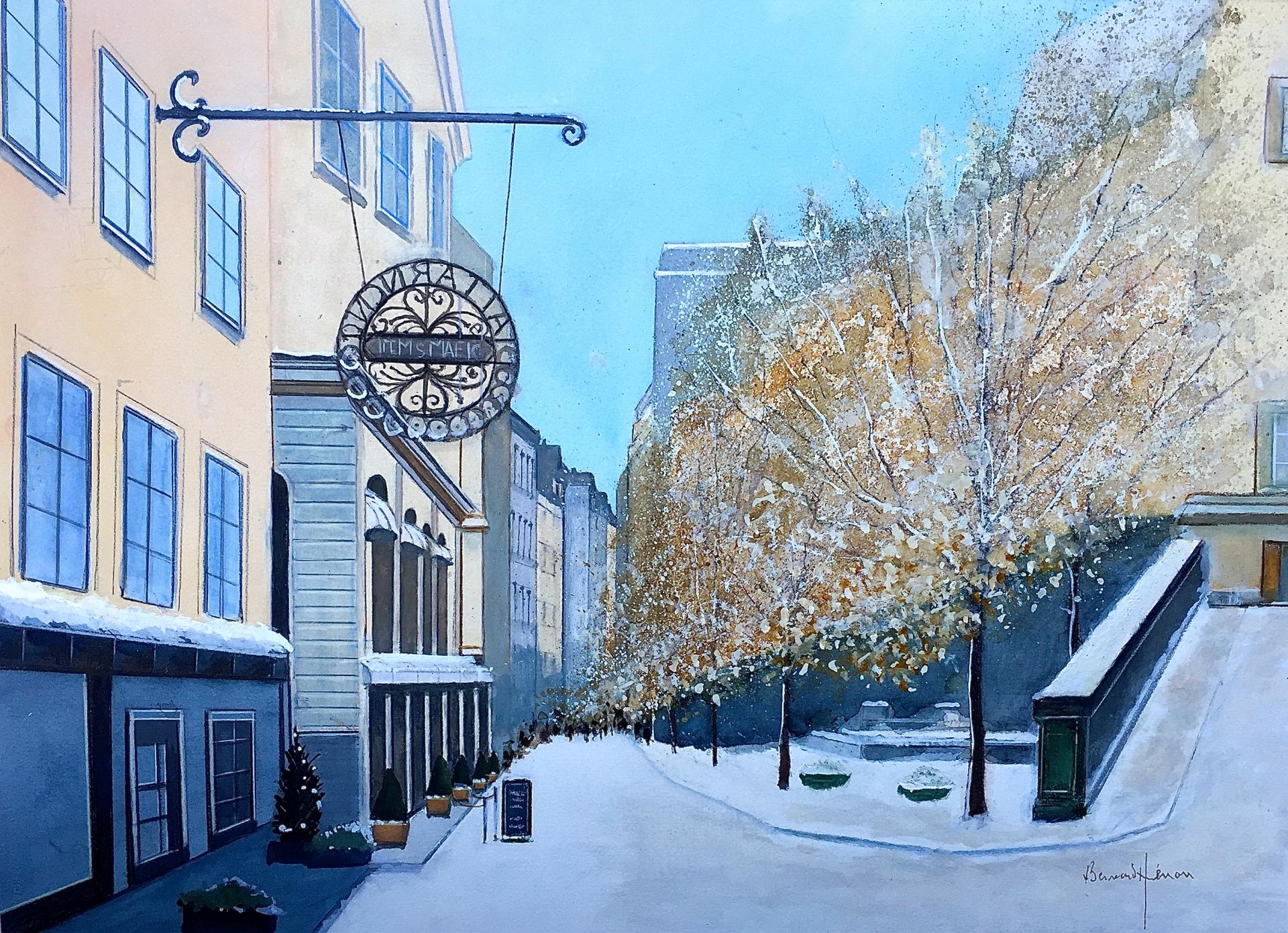 Stockholm le quartier de gamla stan