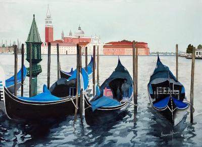 Venise les gondoles 1